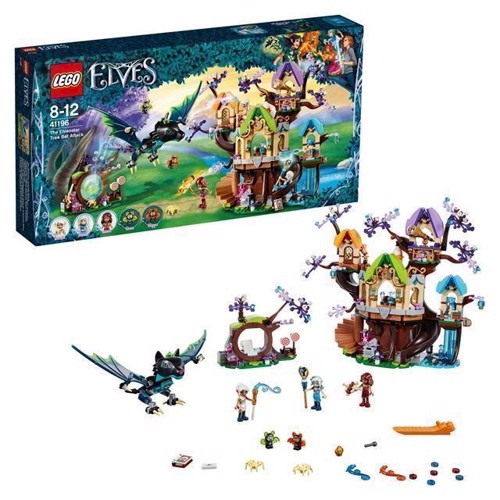 Image of LEGO Elves 41196 Bat attack on the Elvenstar Boom (5702016100662)