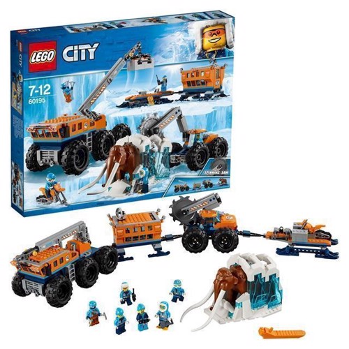 Image of Lego City 60195 Mobil Polarforskningsbase