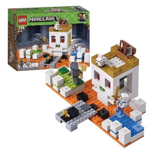 Image of LEGO Minecraft 21145 kraniearenaen (5702016109634)