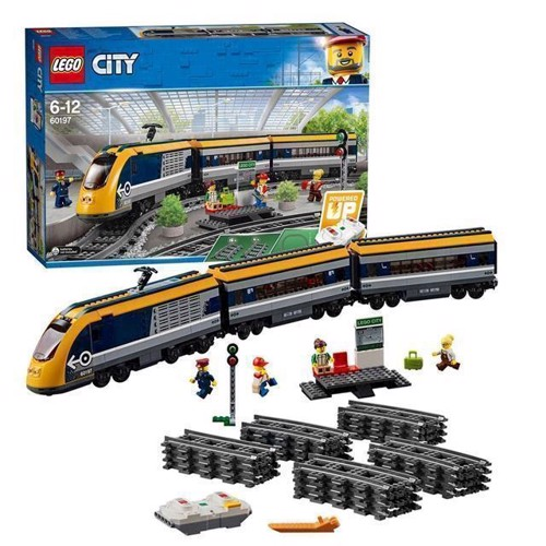 Image of Lego City 60197 Passager Tog