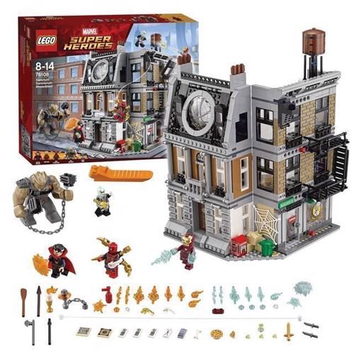Image of LEGO Marvel Super Heroes 76108 Opgør i Dr. Stranges Allerhelligst (5702016110197)