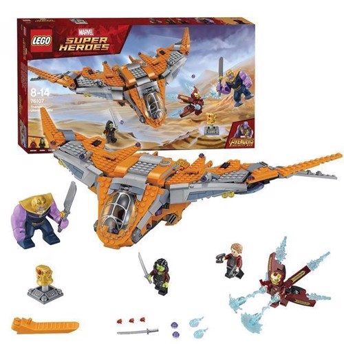 Image of LEGO Marvel Super Heroes 76107 Thanos: the ultimate duel (5702016110210)