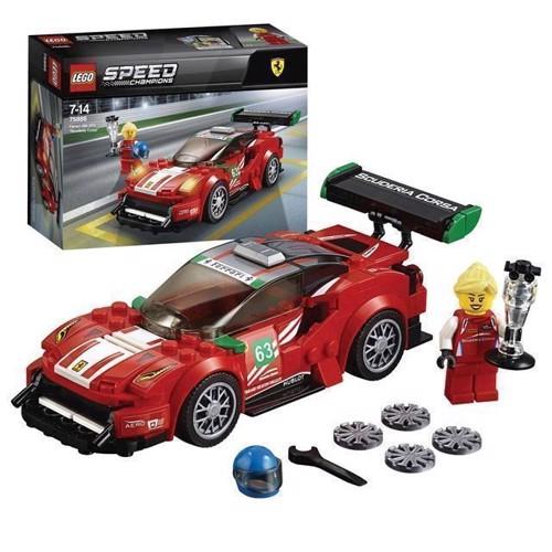 Image of LEGO 75886 Speed Champions Ferrari 488 GT3 Scuderia Corsa (5702016110227)