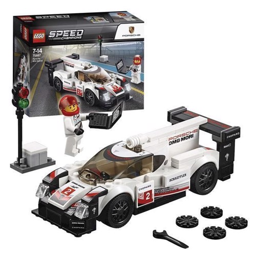 Image of LEGO 75887 Speed Champions Porsche 919 Hybrid (5702016110258)