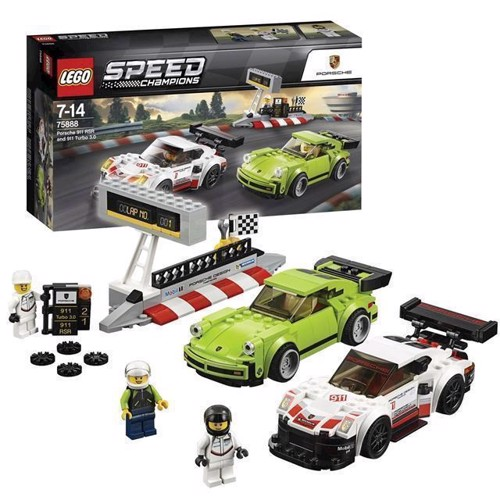 Image of LEGO Speed ​​Champions 75888 Porsche 911 RSR & 911 Turbo 3.0 (5702016110289)