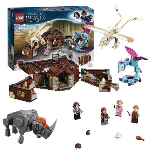 Image of LEGO Harry Potter 75952 Newts kuffert med Fantastiske skabninger (5702016110357)
