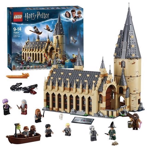 Image of LEGO Harry Potter 75954 Hogwarts storsal (5702016110371)