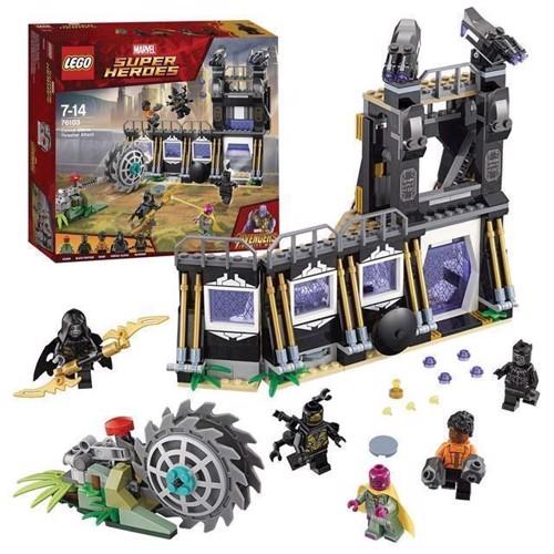 Image of LEGO Marvel Super Heroes 76103 Corvus Glaive tærskerangreb (5702016110395)
