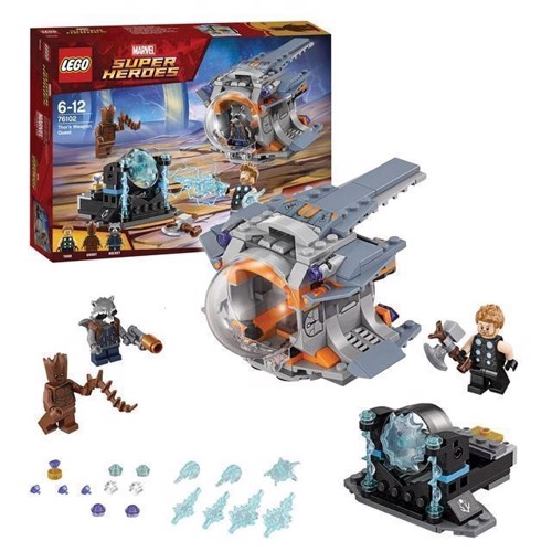 Image of LEGO Marvel Super Heroes 76102 Thor & weapon quest (5702016110401)