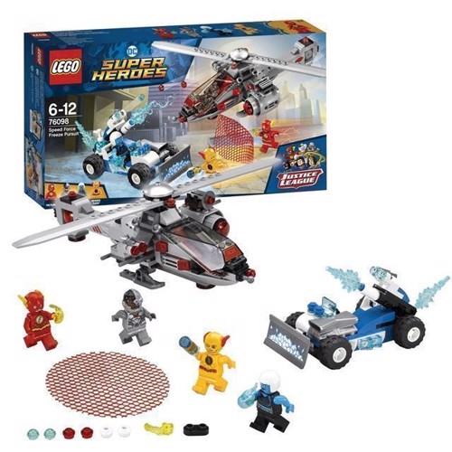 Image of LEGO DC Super Heroes 76098 Lynhurtig iskold jagt (5702016110449)