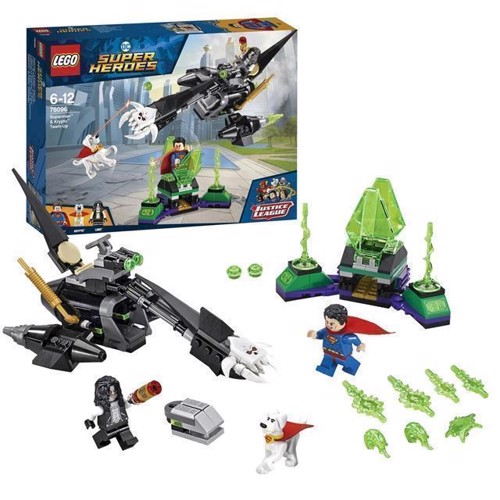 Image of LEGO DC Super Heroes 76096 Superman and Krypto work together (5702016110463)