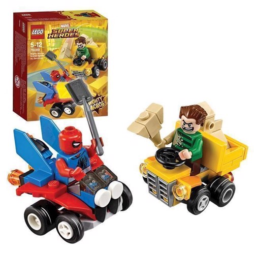 Image of LEGO Marvel Super Heroes 76089 Scarlet Spider vs. Sandman (5702016110524)
