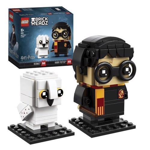Image of LEGO Brickheadz 41615 Harry Potter og Hedwig (5702016110555)