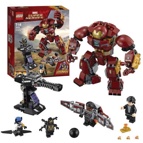 Image of LEGO Marvel Super Heroes 76104 The Hulkbuster duel (5702016110562)