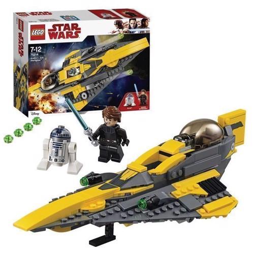 Image of   LEGO Star Wars 75214 Anakins Jedi Stjernejager