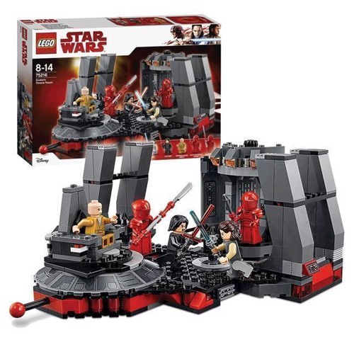 Image of   LEGO Star Wars 75216 Snokes tronsal