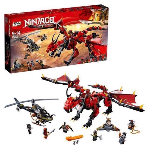 Image of LEGO Ninjago 70653 Firstbourne