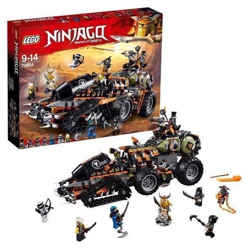 Image of LEGO Ninjago 70654 Dieselnaut (5702016110692)