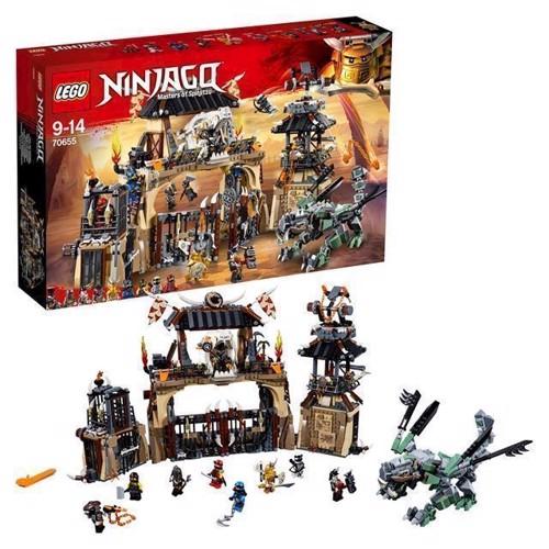Image of LEGO Ninjago 70655 Dragegård (5702016110708)