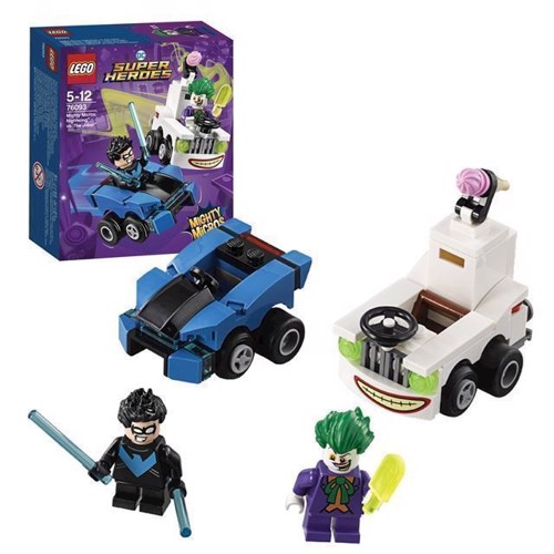 Image of LEGO DC Super Heroes 76093 Mighty Micros Nightwing vs. The Jo (5702016110876)