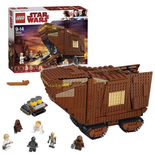 Image of   LEGO Star Wars 75220 Sandcrawler