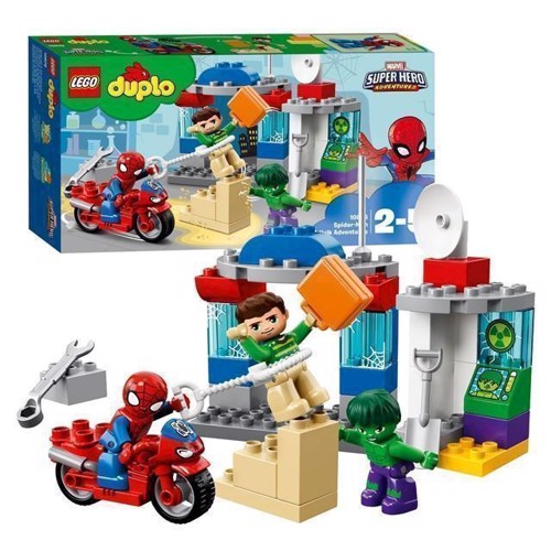Image of   LEGO DUPLO Super Heroes 10876 eventyr SpiderMan og Hulk