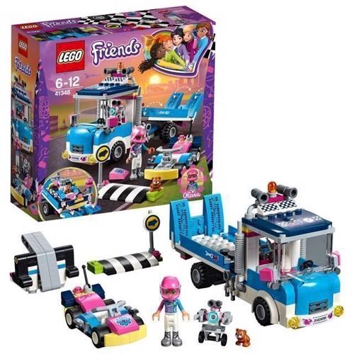 Image of LEGO Friends 41348 service og vedligeholdelsesvogn (5702016112009)