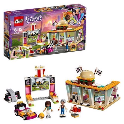 Image of LEGO Friends 41349 Pit-stop cafe (5702016112016)