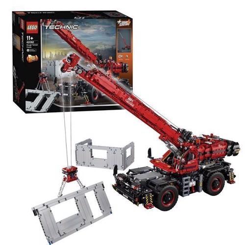 Image of LEGO Technic 42082 terrængående kran (5702016116960)