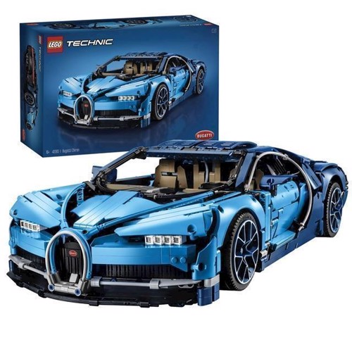 Image of LEGO Technic 42083 Bugatti Chiron (5702016116977)