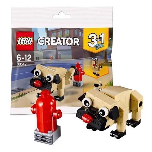 Image of LEGO Creator 30542 mops med brandhane (5702016122411)