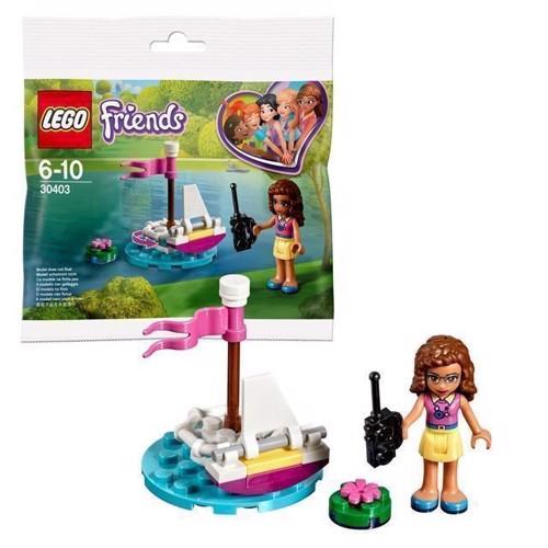 Image of LEGO Friends 30403 Olivias Fjernstyrede Båd (5702016122633)