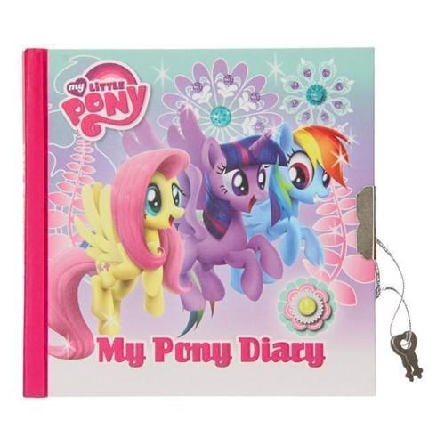 Image of My Little Pony dagbog med lås (5901350208366)