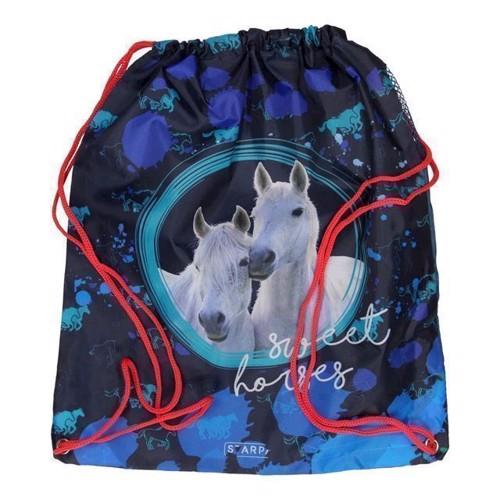 Image of   Gymnastik taske Heste