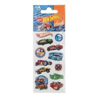 Hot Wheels klistermærker