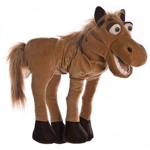 Image of   Hånddukke, Hest 46 cm
