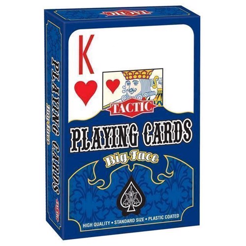 Image of Big Faces spillekort (6416739030838)