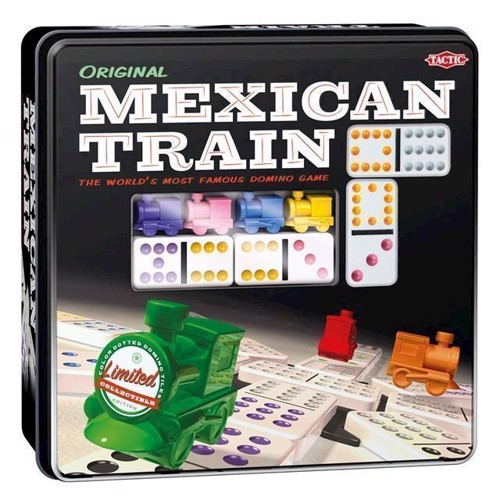 Image of Mexican Train Domino Spil (6416739540054)