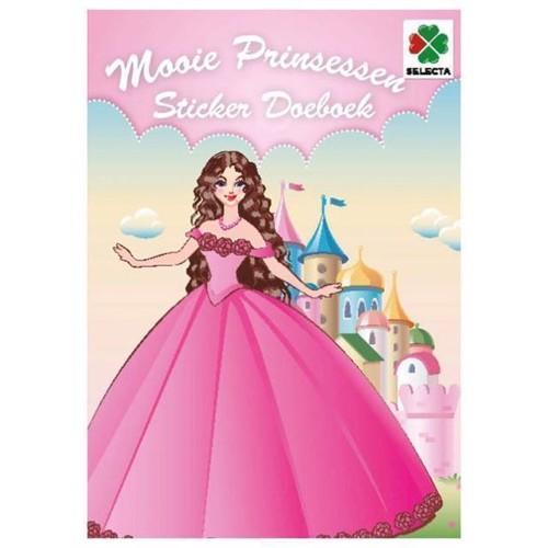 Image of   Klistermærker med prinsesser
