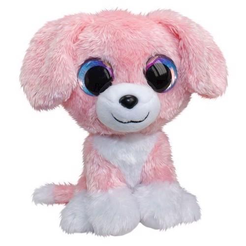 Image of Lumo Stars bamse: hunden Pinky, 15cm