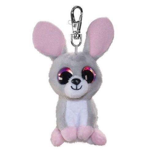 Image of   Lumo Stars bamse, kaninen Pupu, nøglering 8,5 cm