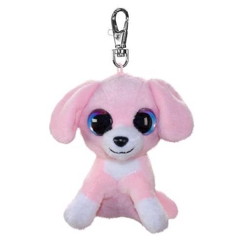 Image of   Lumo Stars bamse, hunden Pinky, nøglering 8,5 cm