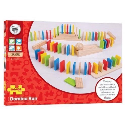 Image of Domino i træ 108 dele (691621545584)