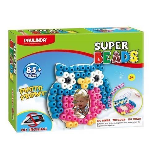 Image of Super Beads Jumbo, billedramme ugle