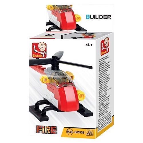 Image of Sluban Builder 4, brand helikopter (6938242953638)