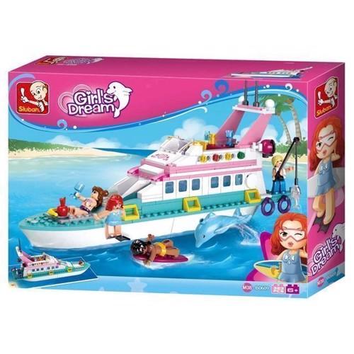 Image of Sluban Girls dream ferie Yacht (6938242953799)