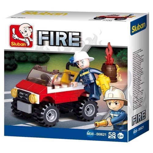 Image of Sluban Fire Jeep (6938242953911)