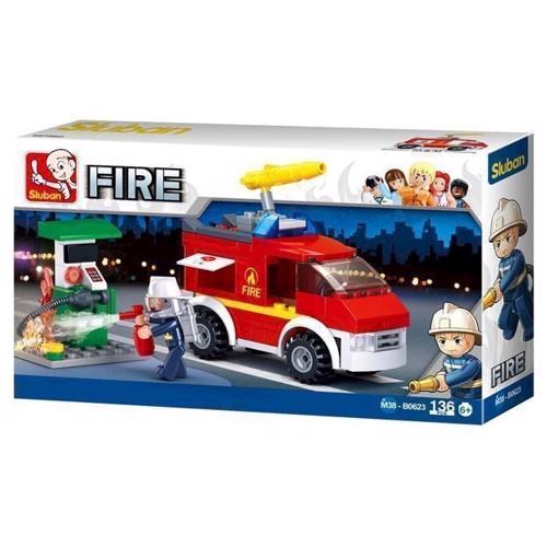 Image of Sluban fire, brandbil udrykning (6938242953935)