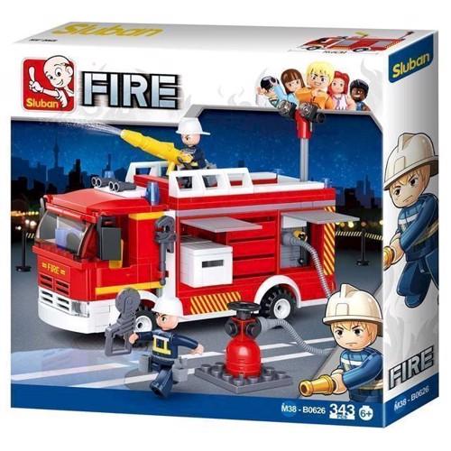 Image of Sluban Fire, brandbil med brandhane (6938242953966)