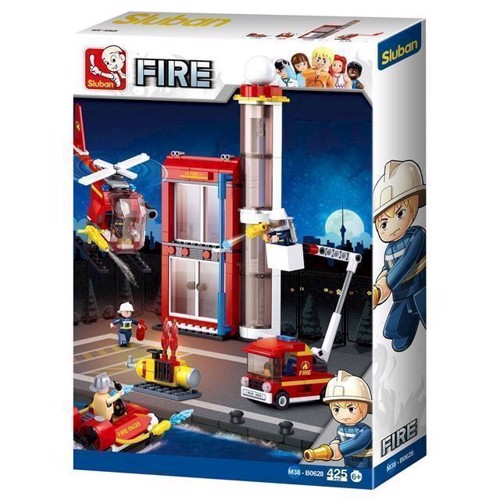 Image of Sluban Fire, brandstation (6938242953980)